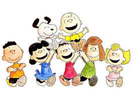 Peanuts Gang by JBugg95