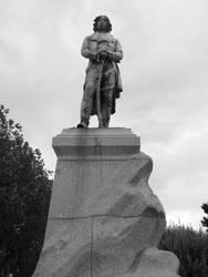 Lazare Hoche Statue by lenain