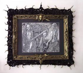 fight factory, framed by larkin-art