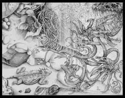Lost in Lizardland-EC w.Franci by larkin-art