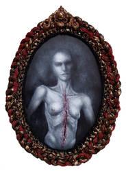 Hungry Ghost by larkin-art