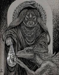 bestowment by larkin-art