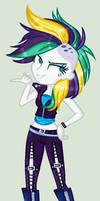 Rarity Punk !!! MLP EG Fanart!~ by YulianaPie26