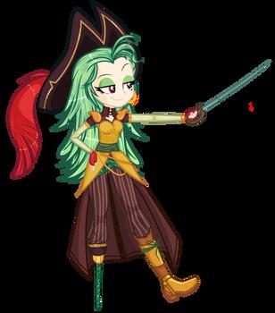 MLP Eg FanArt Captain Celaeno!-// by YulianaPie26