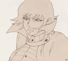 Ryo Asuka by TheReaperKaj