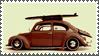 Surfer Bug Stamp by sandwedge