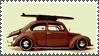 Surfer Bug Stamp 180 by sandwedge