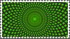 Crazy Green stamp by sandwedge