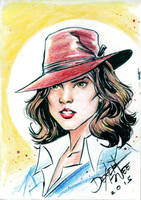 Agent Carter by dexterwee