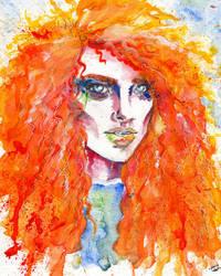 The Curly Orange by IsabelleWallgren