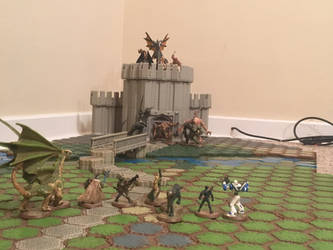 Heroscape Review The Castle Of Pure Evil! by flyingcentar3