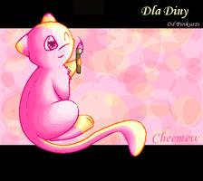 .:Cheemew:. by Pinkie-Pichu