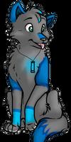 Fluffy Wolfy Zappy by Pinkie-Pichu
