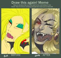 Draw this again Meme [Malign] by Valiuum