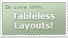 Love Tableless Layouts - Stamp by johnjnerush