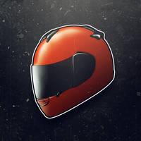 Helmet WIP by elka