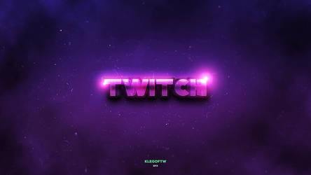 Twitch Wallpaper Klegoftw GFX by elka