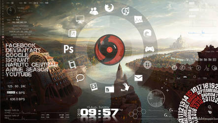 Rainmeter My style by sean-naes