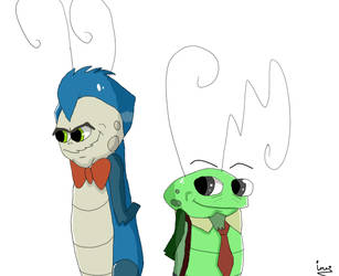 Sterling Very 1st and Toadie Sr. by hurremthecat