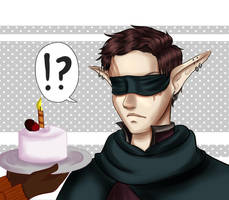 Happy birthday Yan!! by BrassYumiru