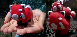 Mini Red Panda by radtastical