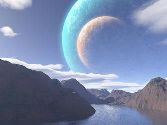 Alien River by morbiusgreen
