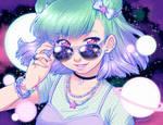 STARRY-EYED GIRL by DesignsBySloan