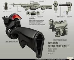 Barracuda Sniper Rifle by dfacto