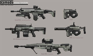 Komodo Assault System by dfacto
