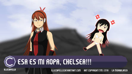 That's My Cloth, Chelsea! by IlleCapello