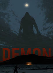 Poster for DEMON short movie by alexandreev