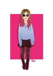 stylishGal 04 by scribblepit