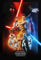Star Wars VII Poster by tyler-wetta