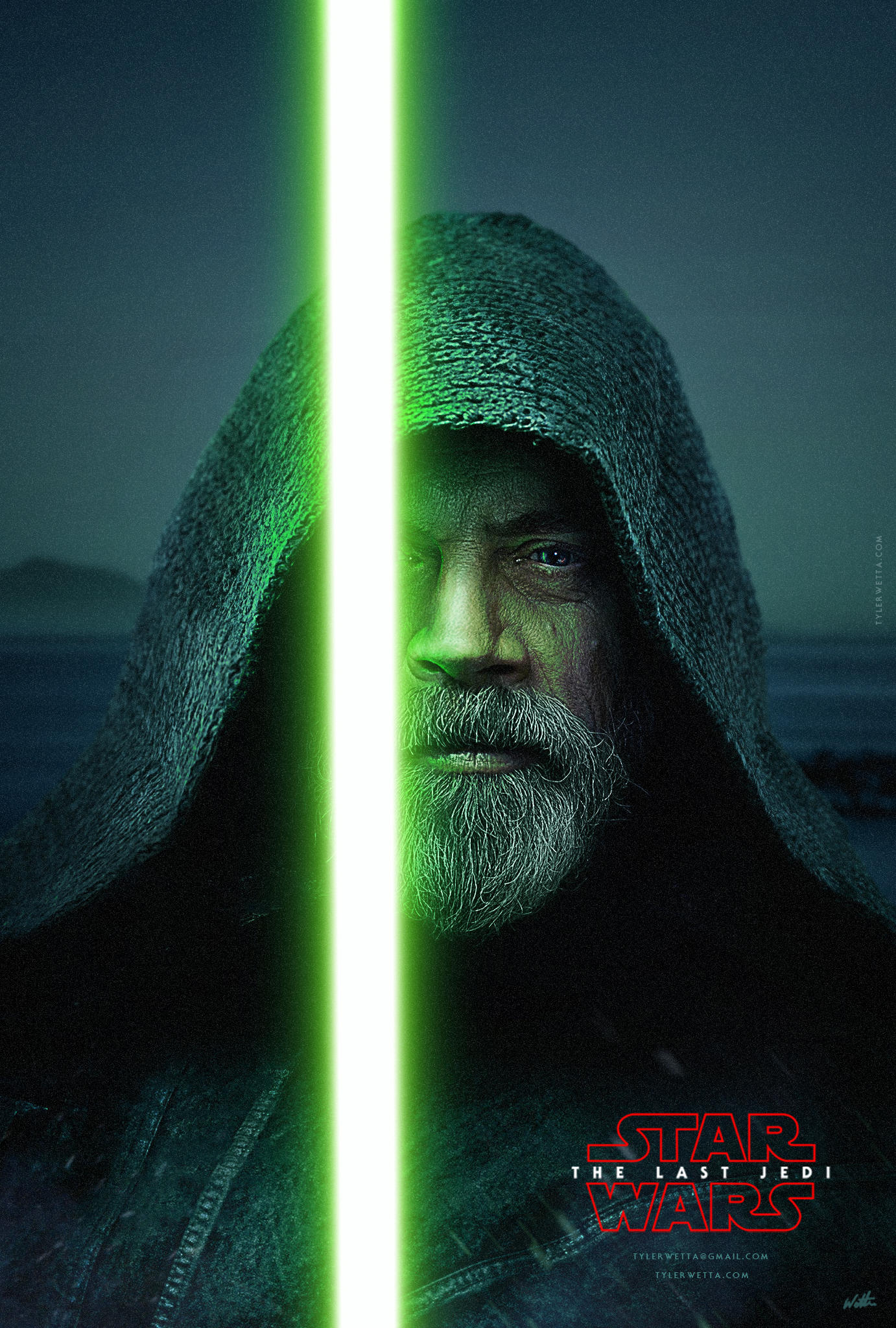 The Last Jedi Movie Poster by tyler-wetta