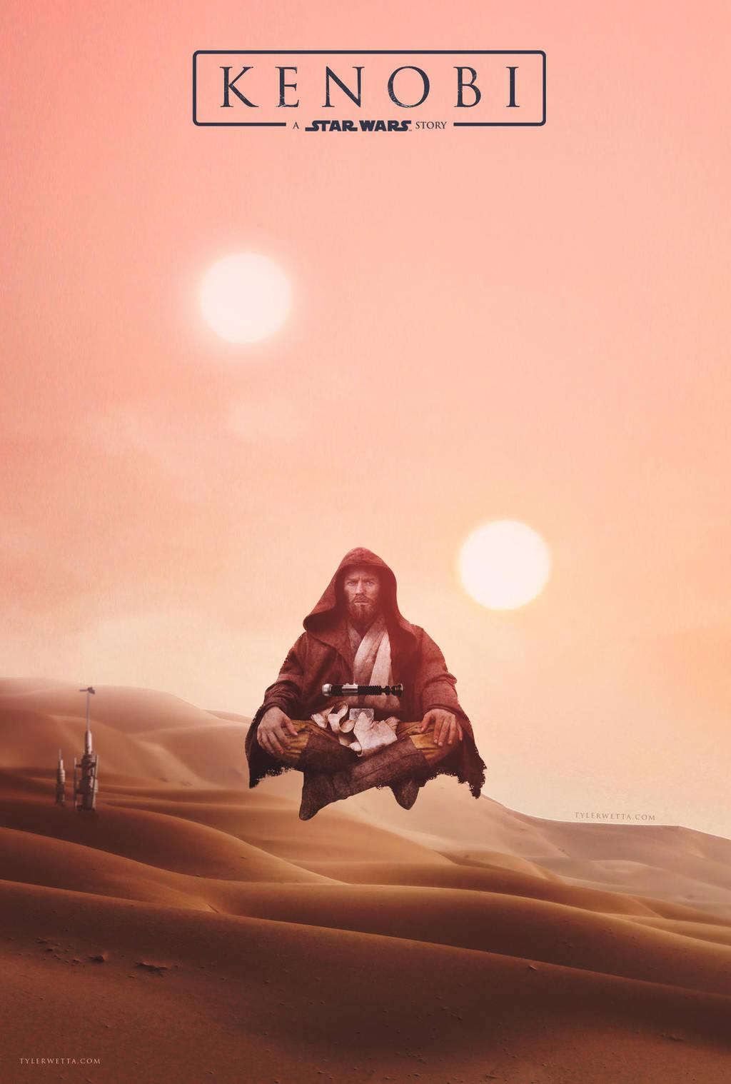 Kenobi: A Star Wars Story Movie Poster by tyler-wetta