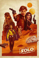 Solo: A Star Wars Story Movie Poster by tyler-wetta