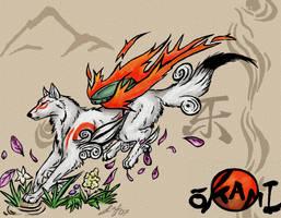 Okami Amaterasu by Rabastan