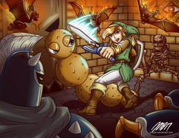 A Link Between Worlds by greytei