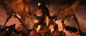 Deathwing - Warcraft by Alrynnas