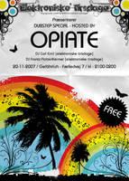 Opiate flyer by loonyworld
