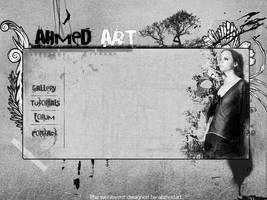 Web Layout 6 by AhmedART