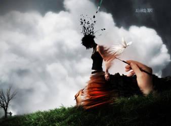 Creating a Dream by AhmedART