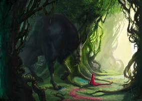 Cap-Roja y el Lobo by Na-V