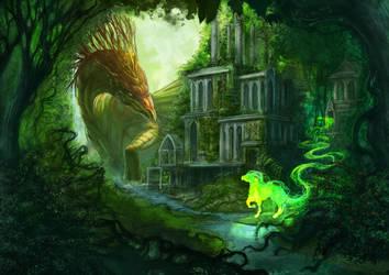 Dragon Spirit by Na-V