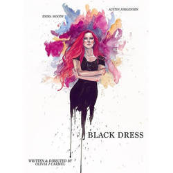 Black Dress movie poster by mattgoodall