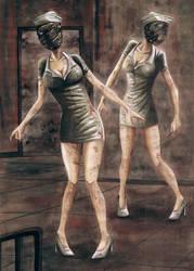 Silent Hill Nurses by Mogmichel