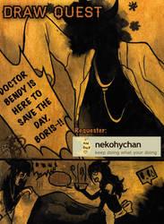 Draw Quest: Nekohychan's Comic by NightWitch14