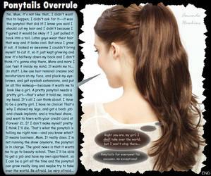 Ponytails Overrule by amandahawkins71