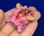 Strawberry Donut Ice Cream Dragon by SolarCrush