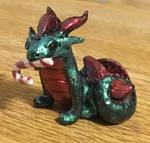 Christmas Dragon 1 by SolarCrush
